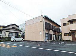 静岡県田方郡函南町大土肥の賃貸アパートの外観