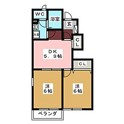 Logement S I[1階]の間取り
