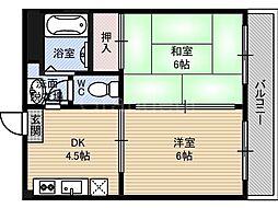 第6渡部ビル[3階]の間取り