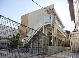 神奈川県横浜市青葉区榎が丘の賃貸アパートの外観