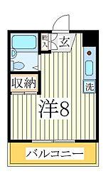 ランドフォレスト天王台II[2階]の間取り