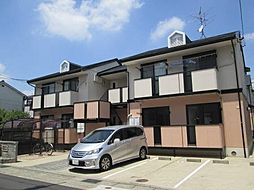 愛知県名古屋市北区楠味鋺1丁目の賃貸アパートの外観