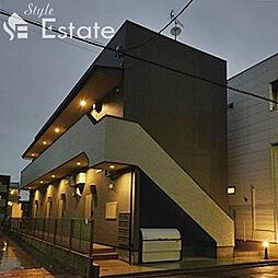 愛知県名古屋市西区城西4丁目の賃貸アパートの外観