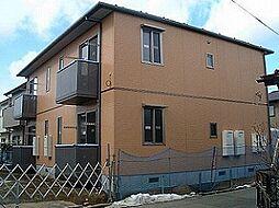 宮城県仙台市若林区沖野1丁目の賃貸アパートの外観