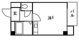 六甲参番館[1階]の間取り