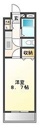 神奈川県川崎市宮前区馬絹の賃貸マンションの間取り