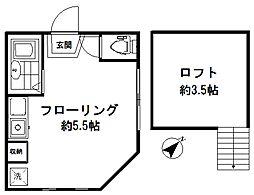 アーバンプレイス江古田III[2階]の間取り