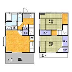 [テラスハウス] 東京都葛飾区東水元5丁目 の賃貸【/】の間取り