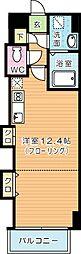 福岡県北九州市小倉北区竪町1丁目の賃貸マンションの間取り