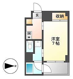 クレイタスパークII[3階]の間取り