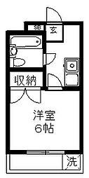 桜台OMマンション[203号室号室]の間取り