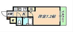 フェニックスK1[4階]の間取り