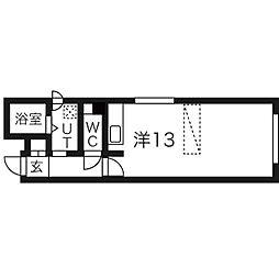 スカイガーデン札幌南[102号室]の間取り