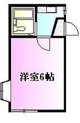 アーバンライフ花の木[2階]の間取り