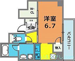 YAMATE435[8階]の間取り