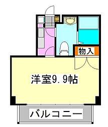 ジュメル京成船橋[705号室]の間取り