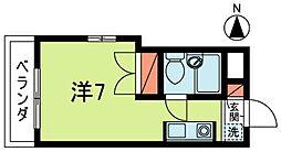 東京都杉並区清水3丁目の賃貸マンションの間取り