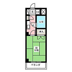 CASA NOAH名古屋III[4階]の間取り