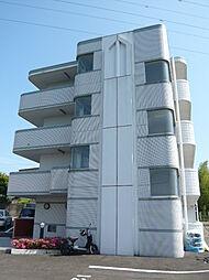 宮城県仙台市泉区上谷刈字向原の賃貸マンションの外観