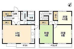 [一戸建] 神奈川県藤沢市本藤沢3丁目 の賃貸【/】の間取り