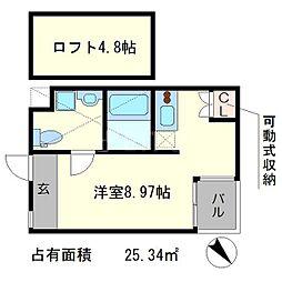 S-COURT[1階]の間取り