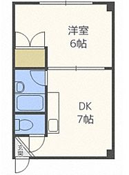 レジデンス静[2階]の間取り