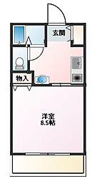 湘南マナーハウス5[103号室]の間取り