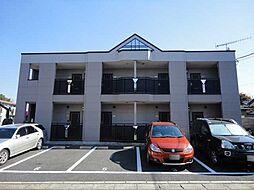 埼玉県深谷市上柴町東3丁目の賃貸アパートの外観