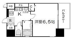 ベラジオ二条城前[305号室]の間取り