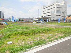 敷地面積45坪超 開発道路新設 建築条件無し売地 限定4区画