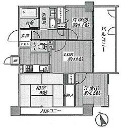 ペルル加島 9階
