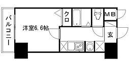 エステムコート博多・祇園ツインタワーセカンドステージ[8階]の間取り
