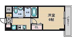 エステムコート新大阪8レヴォリス[6階]の間取り