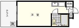 ユースフル妙蓮寺[106号室]の間取り