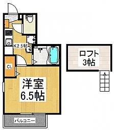 Renaissance亀有[3階]の間取り
