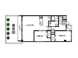 六本松ハウス[2階]の間取り
