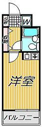 L-VINA目黒(エルヴィーナメグロ)[2階]の間取り