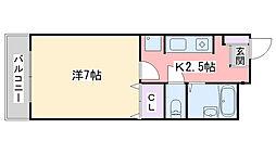 ピュアーレ泉[303号室]の間取り