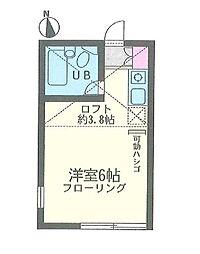 ユナイトステージ HIRASAKU[1階]の間取り