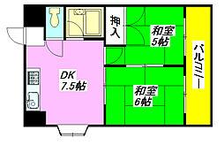 メゾンそれいゆ 205号室[2階]の間取り