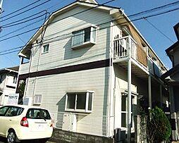 東京都青梅市河辺町6丁目の賃貸アパートの外観