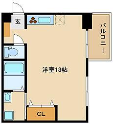 兵庫県姫路市南今宿の賃貸マンションの間取り