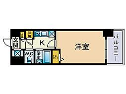 メゾンドヴィレ大濠[8階]の間取り