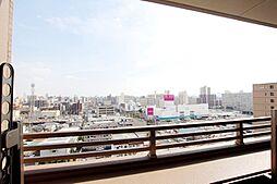 実際の眺望。高層階の為陽当たり・眺望共に良好です。