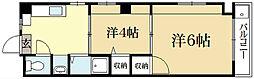 メゾンポエムVII[3階]の間取り