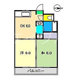 雷門ビル[2階]の間取り
