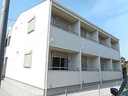 東京都青梅市今井2丁目の賃貸アパートの外観