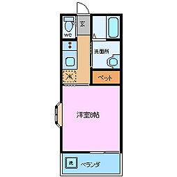 石井ビル(中田町)[1階]の間取り