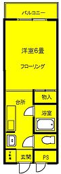 ハイムSUZUKI[1階]の間取り