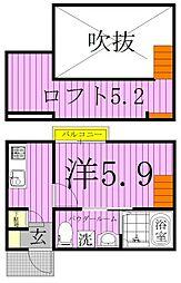 Foresight豊四季 (フォーサイトトヨシキ)[103号室]の間取り